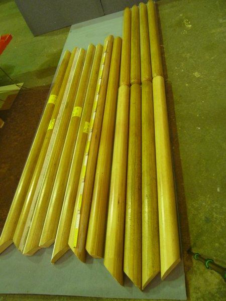 Handlauf Für Geländer Holz Für Möbelbau Kerzenständer Upcycling